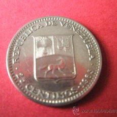 Monedas antiguas de América: MONEDA DE VENEZUELA-25 CÉNTIMOS DE BOLÍVAR-1965-12 MM.D-.. Lote 35929050