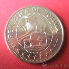 Monedas antiguas de América: MONEDA DE BOLIVIA-1PESO-1978-28 MM.D-.. Lote 36171765