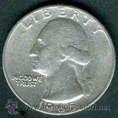 Monedas antiguas de América: 1/4 DE DOLAR DE ESTADOS UNIDOS DE 1965 EBC ( WASHINGTON ) . Lote 36351909