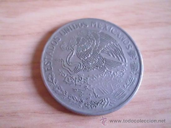 Monedas antiguas de América: . Moneda de México-Méjico. 1 peso de 1971. KM 460 - Foto 2 - 38081962