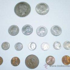 Monedas antiguas de América: LOTE MONEDAS ESTADOS UNIDOS. Lote 36787688