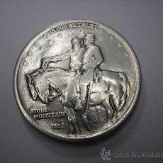 Monedas antiguas de América: 1/2 DOLAR DE PLATA DE USA.1925 STONE MOUNTAIN , CONMEMORATIVA. Lote 37582878