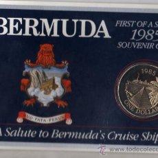 Monedas antiguas de América: BERMUDA, 1 DOLAR 1985 EN CARTERA. Lote 169612005