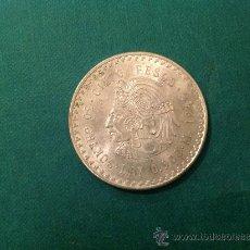 Monedas antiguas de América: MONEDA DE 5 PESOS DE CUAUHTEMOC; PLATA DE LEY .900; 1948. Lote 38029235