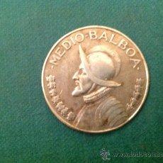Monedas antiguas de América: MONEDA DE 1/2 BALBOA DE PLATA; PANAMÀ; 1966. Lote 38029300