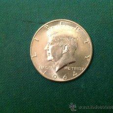 Monedas antiguas de América: MONEDA DE 1/2 DOLAR DE PLATA; ESTADOS UNIDOS DE AMÉRICA; 1964; KENNEDY. Lote 61557956