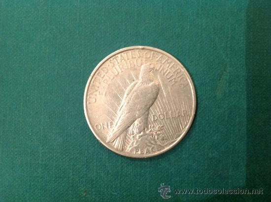 Monedas antiguas de América: Moneda de 1 Dolar de Plata; Estados Unidos de América; 1922 - Foto 2 - 38029526