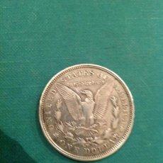 Monedas antiguas de América: MONEDA DE 1 DOLAR DE PLATA; ESTADOS UNIDOS DE AMÉRICA; 1921. Lote 60501595