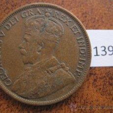 Monedas antiguas de América: CANADA 1 CENTIMO 1919. Lote 38064125