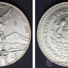 Monnaies anciennes d'Amérique: 1/2 ONZA PLATA LIBERTAD. MÉXICO. 2002. SC. Lote 38180870