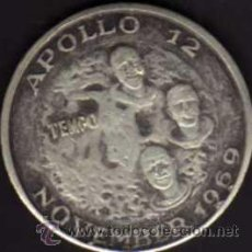Monedas antiguas de América: MONEDA COMMEMORATIVA DEL ALUNIZAJE DEL APOLLO XII - EMITIDA POR LA REVISTA TEMPO EN 1969. Lote 38228395