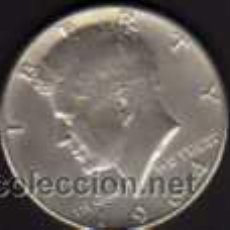 Monedas antiguas de América: MEDIO DOLAR DE PLATA DE 1964 CON LA EFIGIE DE JOHN FITZERALD KENNEDY - U.S.A.. Lote 38228444