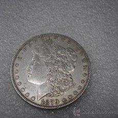 Monedas antiguas de América: DOLAR DE PLATA DE USA , TIPO MORGAN DE 1879. Lote 38498160