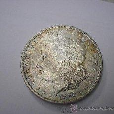 Monedas antiguas de América: DOLAR DE USA DE PLATA TIPO MORGAN DE 1885 O. Lote 38549747