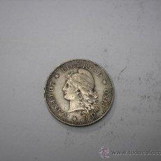 Monedas antiguas de América: 20 CENTAVOS DE PLATA DE 1882. REPUBLICA ARGENTINA. Lote 38550503