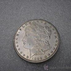 Monedas antiguas de América: DOLAR USA DE PLATA TIPO MORGAN DE 1898 O. Lote 38612017