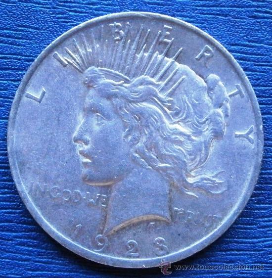 ESTADOS UNIDOS 1 DOLAR TIPO PAZ 1923 VER FOTOS (Numismática - Extranjeras - América)