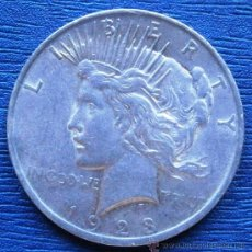 Monedas antiguas de América: ESTADOS UNIDOS 1 DOLAR TIPO PAZ 1923 VER FOTOS. Lote 85480124