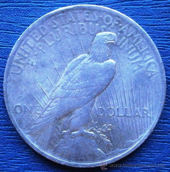 Monedas antiguas de América: Estados Unidos 1 Dolar Tipo Paz 1923 Ver Fotos - Foto 2 - 85480124