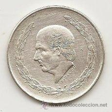 Monedas antiguas de América: MEJICO 1953. 5 PESOS HIDALGO DE PLATA. MONEDA TIPO DURO. Lote 39249667