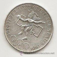 Monedas antiguas de América: MEJICO 1968. 25 PESOS OLIMPIADAS 1968.TIPO MONEDA DE DURO. Lote 39249781