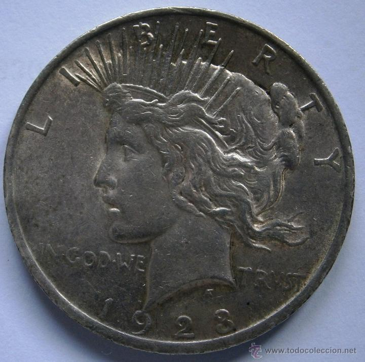 Monedas antiguas de América: Estados Unidos 1 Dolar Tipo Paz 1923 Ver Fotos - Foto 3 - 85480124