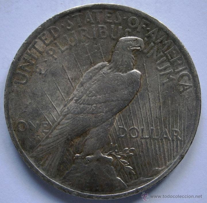 Monedas antiguas de América: Estados Unidos 1 Dolar Tipo Paz 1923 Ver Fotos - Foto 4 - 85480124
