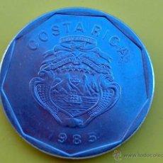 Monedas antiguas de América: A334-COSTA RICA 20 COLONES 1985. Lote 40275841