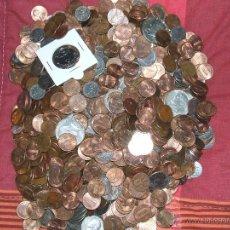 Monedas antiguas de América: LOTE DE MONEDAS DE ESTADOS UNIDOS - 1,75 KG (CIRCULADAS).. Lote 133941535