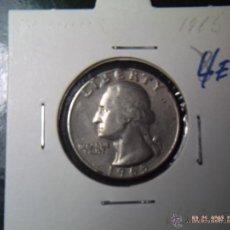 Monedas antiguas de América: CUARTO DE DOLLAR 1965. USA. NORMAL CONSERVACION. Lote 40543056