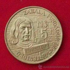 Monedas antiguas de América: MONEDA 5 N$ CONMEMORATIVA - 250 AÑOS FUNDACION MONTEVIDEO - -NO CIRCULARON - KM 70 B. Lote 40662208