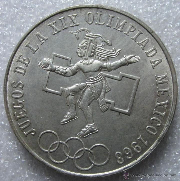 Mexico 1968 25 Peso Moneda Plata S C Comprar Monedas Antiguas De