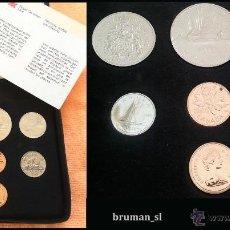 Monedas antiguas de América: CANADA AÑO 1980 COIN SET DE 7 MONEDAS PROOF COMPLETO EN ESTUCHE ORIGINAL. Lote 40860417
