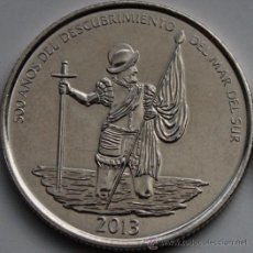 Monedas antiguas de América: PANAMA 1/2 BALBOA 2013 CONJUNTO MONUMENTAL DE PANAMA VIEJO ( NUÑEZ DE BALBOA ). Lote 168748992
