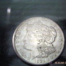 Monedas antiguas de América: AMERICA. UN DOLLAR 1921 S. PLATA. EXCELENTE.. Lote 41131195