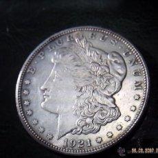 Monedas antiguas de América: AMERICA. UN DOLLAR DEL AÑO 1921 D. PLATA. EXCELENTE. SIETE PLUMAS EN COLA.. Lote 41131409
