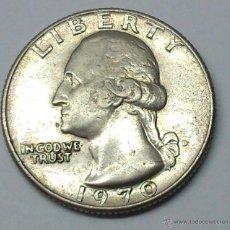 Monedas antiguas de América: QUARTER DOLLAR. 1970. ESTADOS UNIDOS. Lote 195250263