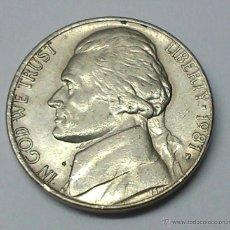 Monedas antiguas de América: FIVE CENTS. 1981. ESTADOS UNIDOS. Lote 195250270