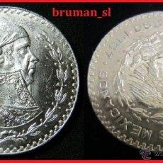 Monedas antiguas de América: PESO DE PLATA ESTADOS UNIDOS MEXICANOS 1967 MBC. Lote 41402529