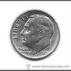 Monedas antiguas de América: ONE DIME USA 1973. Lote 41409248