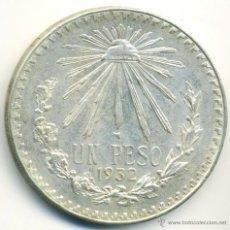 Monedas antiguas de América: MONEDA DE MEXICO 1932. 1 PESO, PLATA 0,720. Lote 41458647