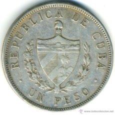Monedas antiguas de América: MONEDA DE CUBA. 1 PESO DE PLATA, 1932. Lote 41458820
