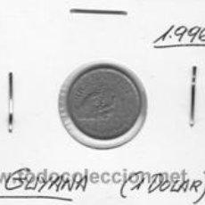 Monedas antiguas de América: GUYANA 1 DOLAR 1996. Lote 41754415