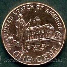 Monedas antiguas de América: ESTADOS UNIDOS 1 CENT DEL 2009 ( ABRAHAN LINCOLN ) Nº3. Lote 147389389
