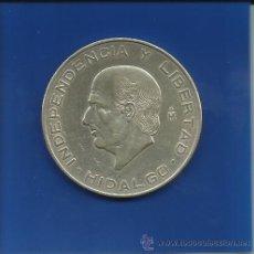 Monedas antiguas de América: MEXICO 10 PESOS 1956 PLATA. Lote 42068851