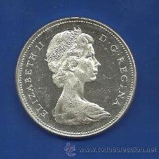 Monedas antiguas de América: CANADA 1 DOLAR (DOLLAR) PLATA 1965. Lote 42140490
