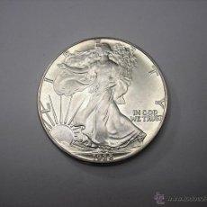Monedas antiguas de América: ONZA DE PLATA PURA , VALOR 1 DOLAR USA DE 1988. Lote 214251451