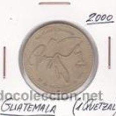 Monedas antiguas de América: GUATEMALA 1 QUETZAL 2000. Lote 42184039