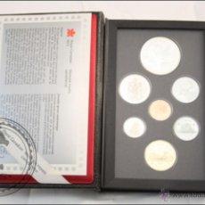 Monedas antiguas de América: ESTUCHE DE MONEDAS - ROYAL CANADIAN MINT - 7 VALORES DE CANADÁ. 1995 - FDC/PROOF. Lote 42221687