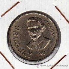 Monedas antiguas de América: ARGENTINA : 10 NUEVOS PESOS 1981 ( ARTIGAS ) EBC+. Lote 42448232
